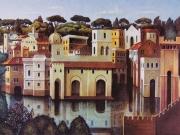 La Città ritrovata (litografia cm.56x76)