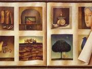Il taccuino di C.L. (olio su tela, dittico, cm.50x90)