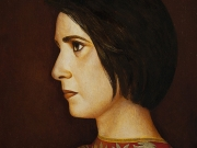 Stefania G. (olio su tela cm.50x40) 2014