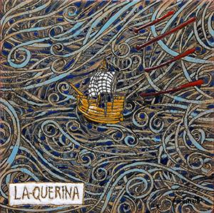 La Querina (cuerda seca e smalti ceramici, cm.20x20)